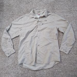 North Face Men's Shirt Breathable Outdoor Fishing